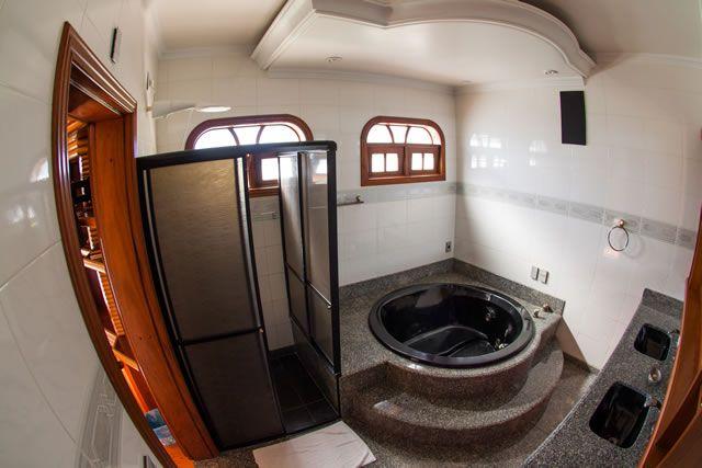 Banheiro, pousada Baia dos Corais