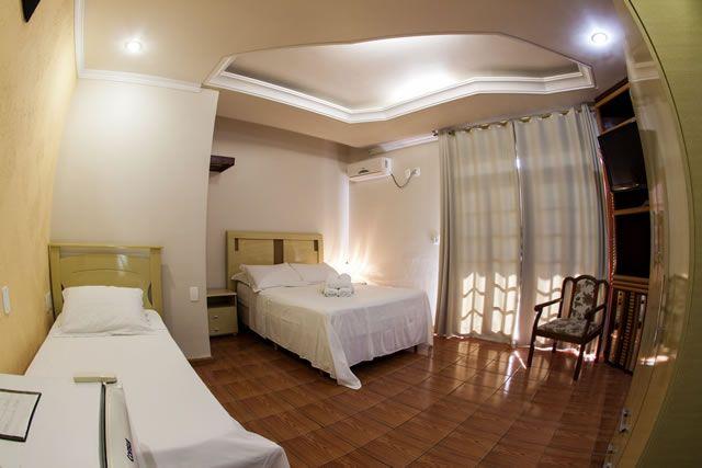 Dormitório, pousada Baia dos Corais