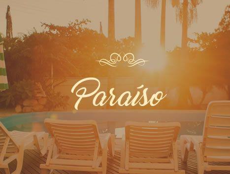Paraíso é em pousada Baia dos Corais