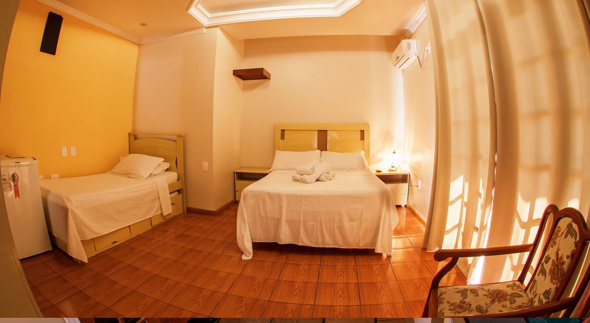 Dormitórios, pousada Baia dos Corais